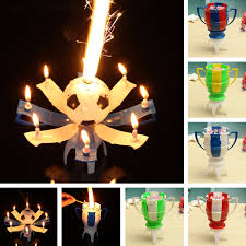 happy birthday candle amazing musical football rotating happy birthday candle