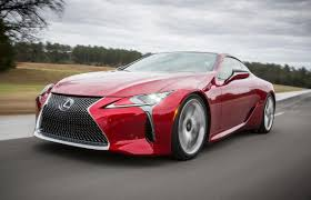 lexus that looks like a lamborghini lexus lc coupe dare to be different road tests driven