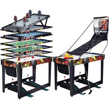 table md sports 48 inch 3 in 1 combo game table 3 games with billiards
