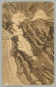 San Francisco Area Map by San Francisco Bay Area David Rumsey Historical Map Collection