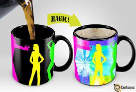 weird coffee mugs magic coffee mugs travel mug heat sensitive color changing