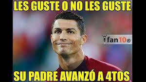 Memes De Cristiano Ronaldo - eurocopa 2016 memes de cristiano ronaldo y portugal son virales