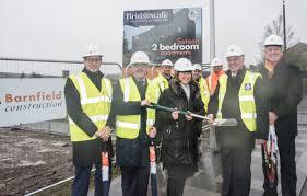first hca starter homes scheme in the uk gets underway in burnley