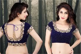blouse pics embellished saree blouse designs patterns