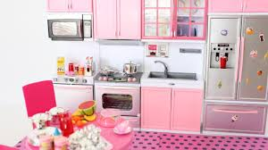 941 Best Modern Kitchens Images New Barbie Doll Giant And Pink Modern Kitchen Opening Unboxing