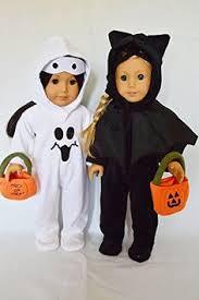Halloween Costumes Dolls Fits American Halloween 3 Piece Orange Black Spiders