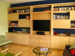 wall units astounding custom tv cabinets built in built in