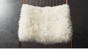 fur chair cover sheepskin chair cover in accent chairs reviews cb2