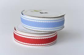 thick ribbon thick stripe ribbon l atelier willmott