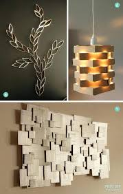 Cardboard Pendant Light Wall Art Light Amazing Modern Decoration Design Ideas To Beautify