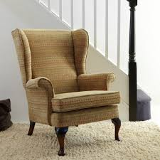 Winged Chairs Design Ideas with Charming Modern Wing Chair Interior Design Ideas Come With White
