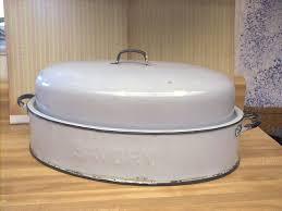savory roasting pan vintage enamelware graniteware savory gray turkey roasting pan