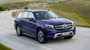 mercedes size suv mercedes reveals 2016 gls size suv chasing cars