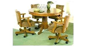Replacement Dining Room Chairs Dining Chair With Casters Dining Room Chairs Casters Rolling Dining