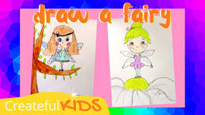 how to draw a fairy youtube