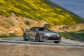 lexus warning lights exclamation point 2018 lexus lc 500 and lc 500h first test car options car