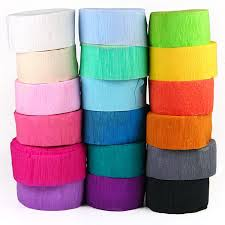 paper crepe streamers crepe paper streamers pipii