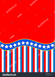 Blue White Red White Blue Flag Red White Blue Patriotic Frame Border Stock Illustration 99512699