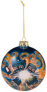 who exploding tardis tree ornament