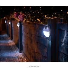 Solar Light For Fence Post - fence post solar lights uk fence gallery