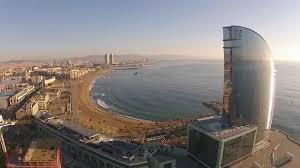 hotel w barcelona bcndji dji phantoom 2 vision youtube