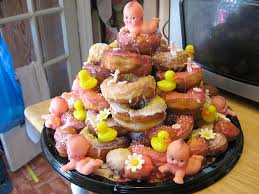 baby shower babies baby shower donut tower make