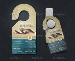 door hanger flyer template door hanger template free premium templates