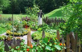 Urban Veggie Garden - garden ideas urban vegetable garden design with round garden bed