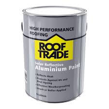 Heat Reflective Spray Paint - rooftrade silver solar reflective aluminium paint 5l departments