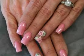 pink 3d nail designs how you can do it at home pictures designs
