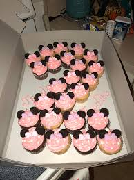 minnie mouse cupcakes i made minnie mouse cupcakes for a girl s 2nd birthday