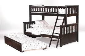 Futon Bunk Bed Wood Wooden Twin Over Full Futon Bunk Bed U2014 Modern Storage Twin Bed