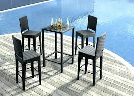 high top patio table and chairs high top patio table and chairs bar height patio table large size