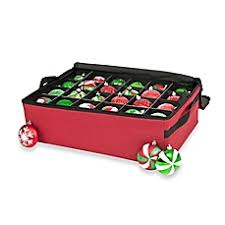 Christmas Ornament Storage Solutions by Holiday Storage Christmas Storage Bags U0026 Boxes Bed Bath U0026 Beyond