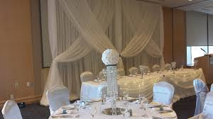 royal blue chair covers white satin chair covers set the mood decor