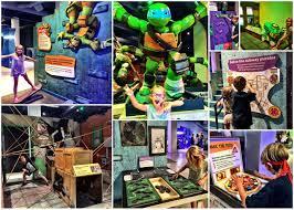 teenage mutant ninja turtles exhibit at the discovery cube plan