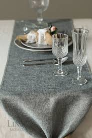 48 inch table runner 14 inch grey burlap table runner length available for 48 60 72 84