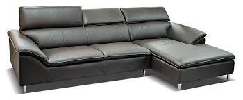 L Leather Sofa Imported Sofa Half Leather Relaxon