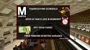 is metro open on thanksgiving latest traffic conditions page 1737