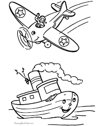 boat coloring pages kids kids coloring
