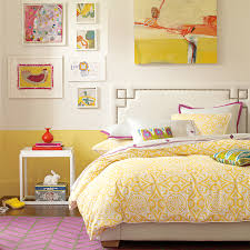 yellow magenta color pinterest bedrooms bright and half