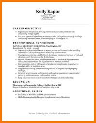 Resume Examples Administration by 6 Reception Resume Examples Park Attendant