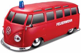 volkswagen maisto shopthewall maisto rc fahrzeug vw bus ambulanz mit licht sound