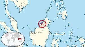 Brunei Map Brunei Brunei Asia Pinterest Asia