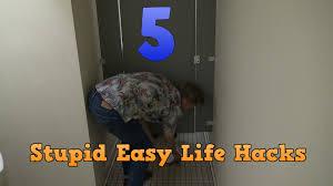 Easy Life Hacks 5 Stupid Easy Life Hacks Youtube
