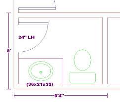 4 Foot Bathroom Vanity by Tiny 5x6 Bathroom Floor Plan With 3 Foot Vanity Cabinet Floor