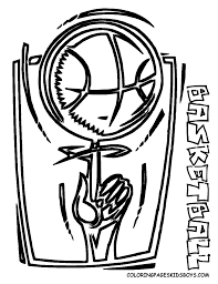coloring page basketball free basketball coloring pages the sports fan clip art library