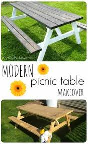 Furniture Enjoy Your Backyard With Perfect Picnic Tables Lowes by Needed A Patio Table On A Budget I Thought The Picnic Table