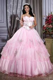 pink wedding dresses uk buy cheap strapless beading gown tulle satin pink