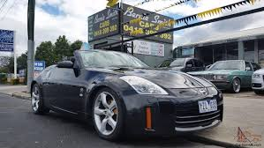 nissan 350z convertible top nissan 350z track z33 roadster